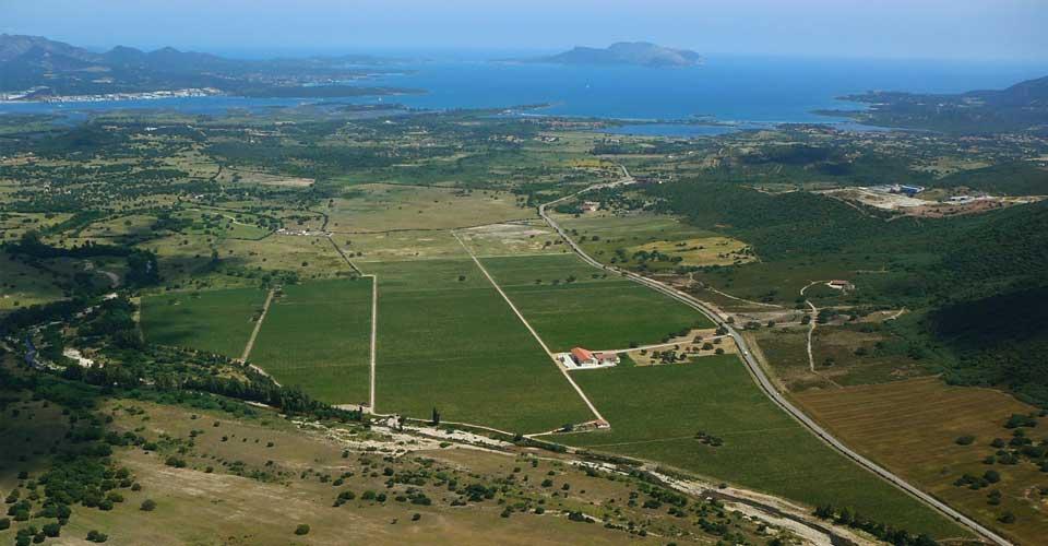 territorio della Gallura in Sardegna
